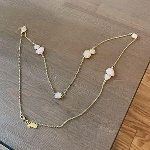 Kate Spade Pink Long Necklace